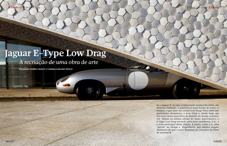 Reportaje Jaguar E-Type Low Drag