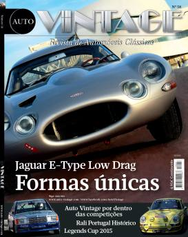 Jaguar E-Type Low Drag Formas únicas