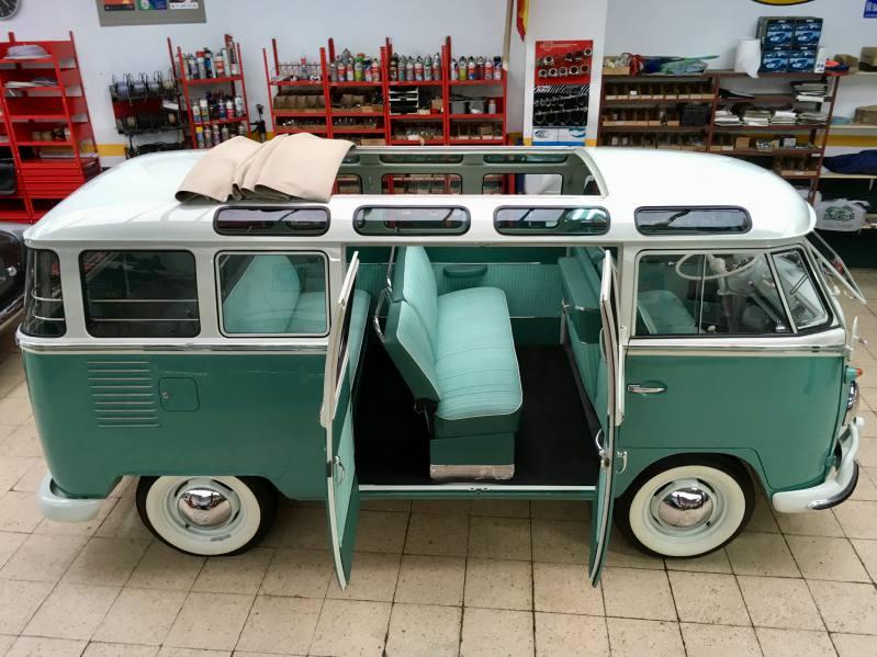 Furgoneta Volkswagen restaurada